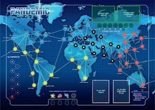 Игровое поле - Пандемия
