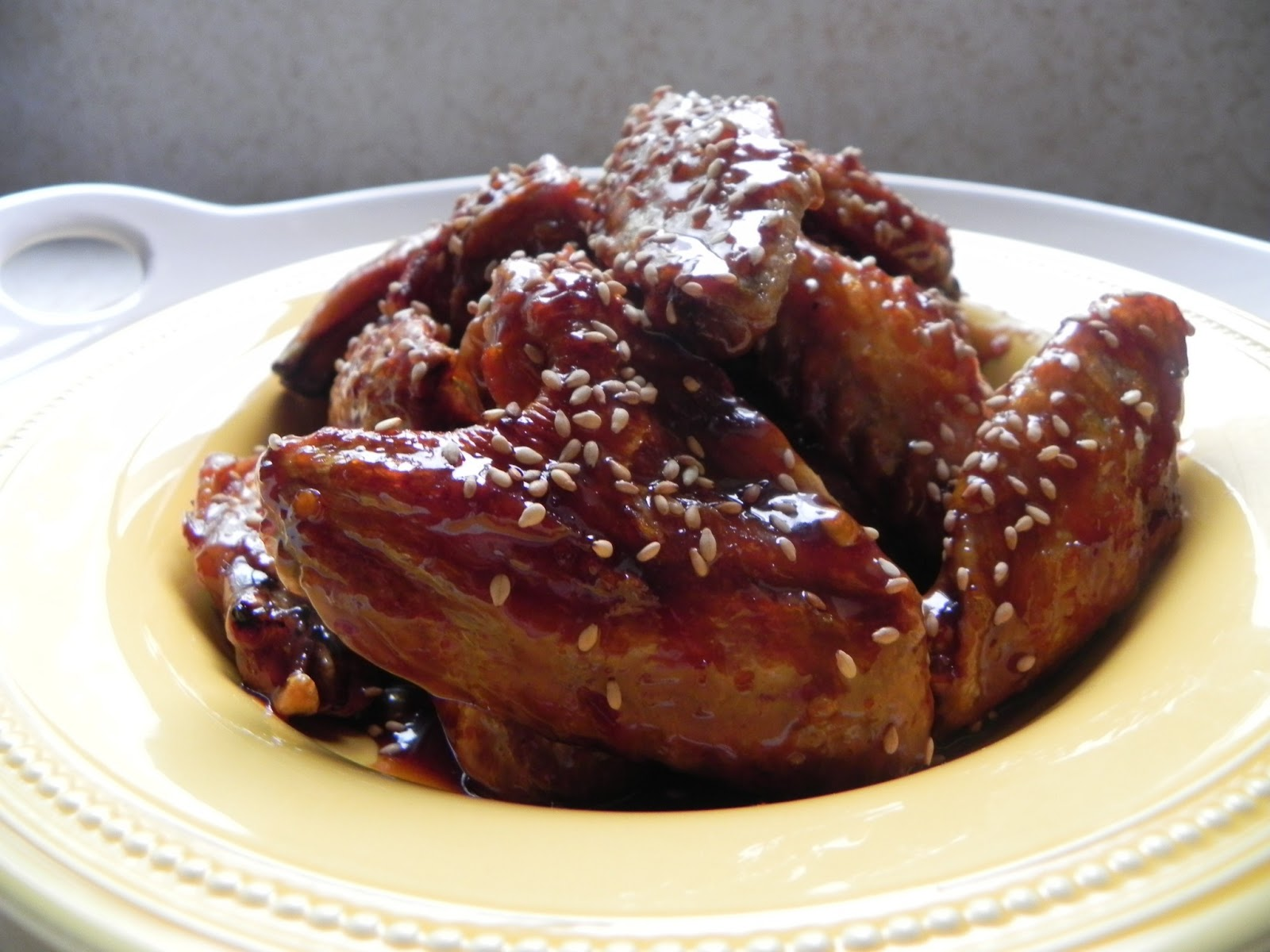 Let Them Eat Healthy: Spicy, Baked, Asian Inspired Chicken Wings