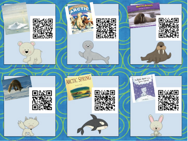 https://www.teacherspayteachers.com/Product/Arctic-Animals-QR-Code-Read-Alouds-FREE-2346347