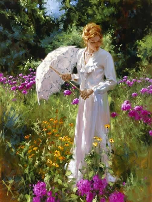 женщина рисунок
