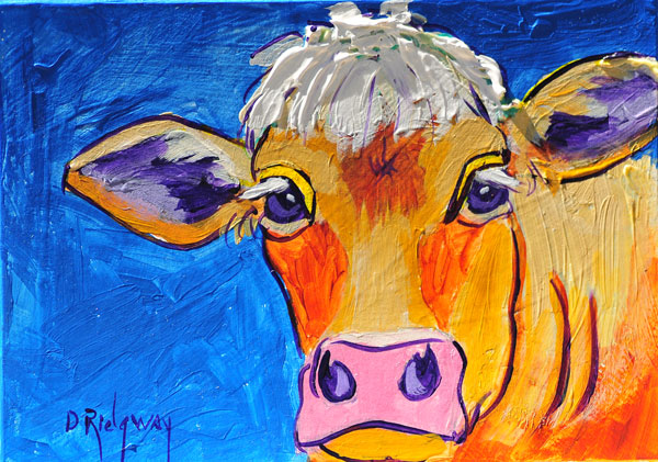 Worldwide Women Artists: The Colorful Cow