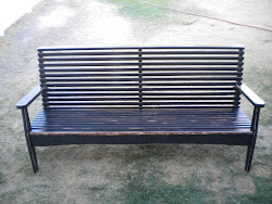 slat bench...SOLD