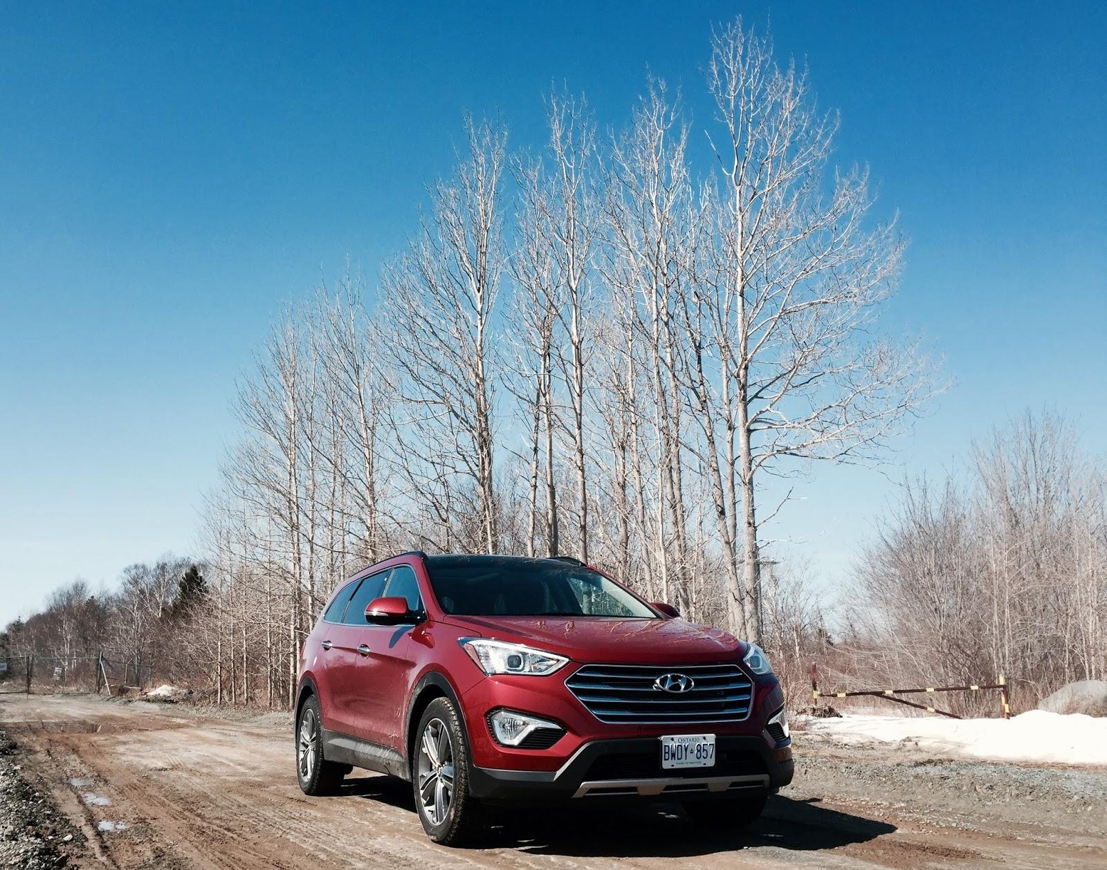 2015 Hyundai Santa Fe XL Limited front