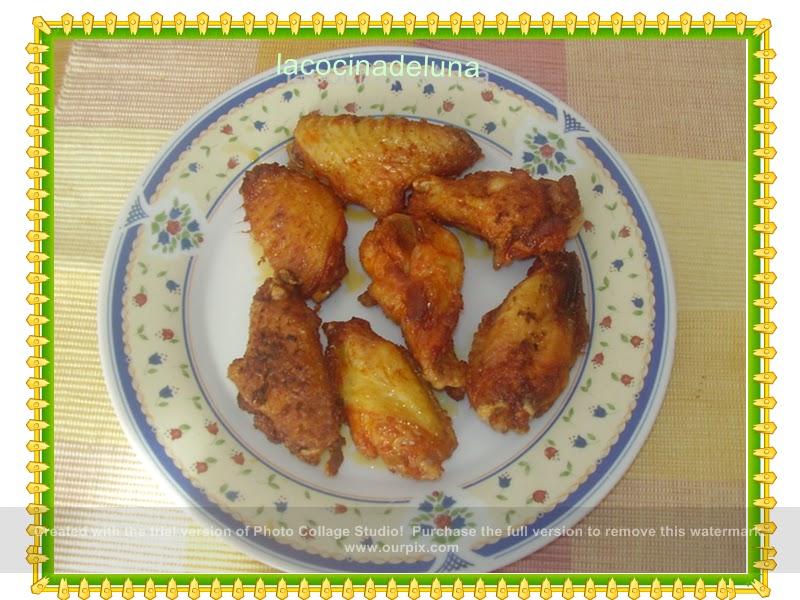 La cocina de luna alitas en adobo - Adobo de alitas de pollo ...