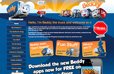 Beddy the Truck's website