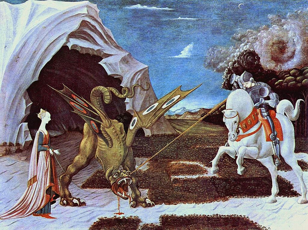 St. George and the Dragon - Uccello