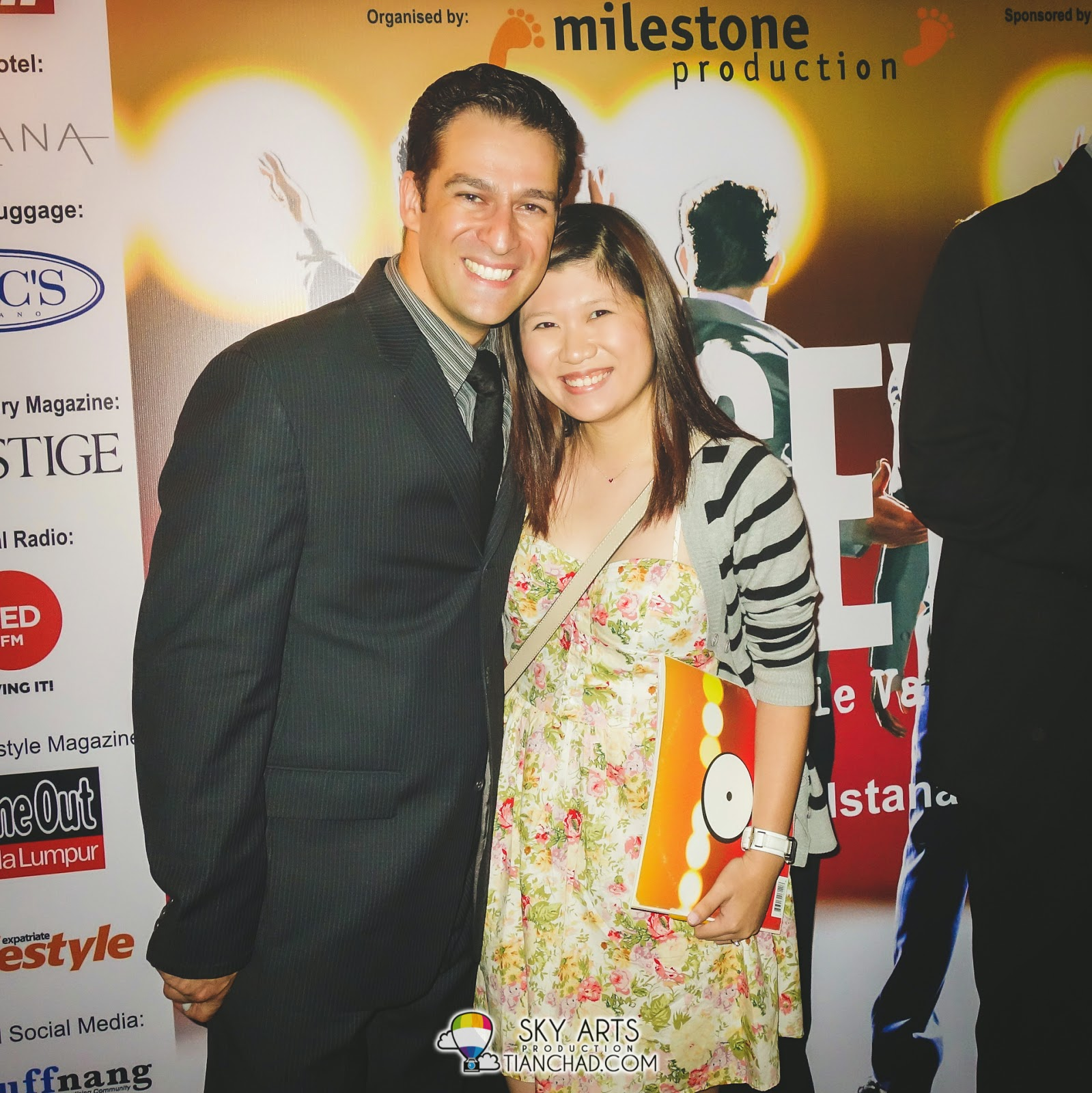 Picture of Iris with Emmanuel Castis