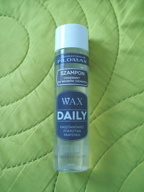 WAX Daily szampon do włosów ciemnych