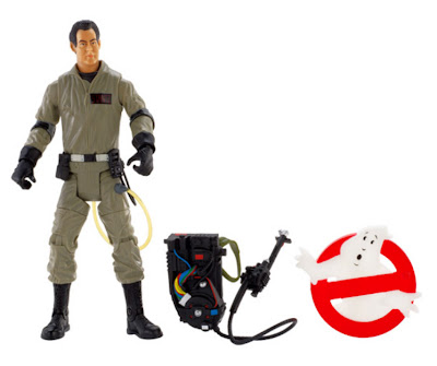 Mattel Matty Collector Ghostbusters Ray Figure with Removable Backpack and Extras