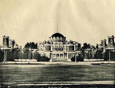 Palacio Petrovski palace Moscú Moscow