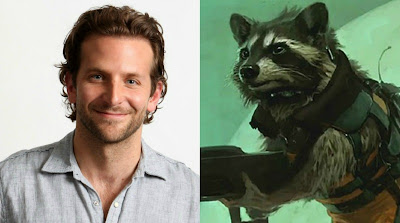 bradley cooper,rocket raccoon