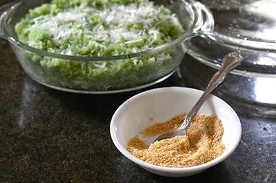 Cách nấu xôi lá dứa cốt dừa cực ngon, dẻo4