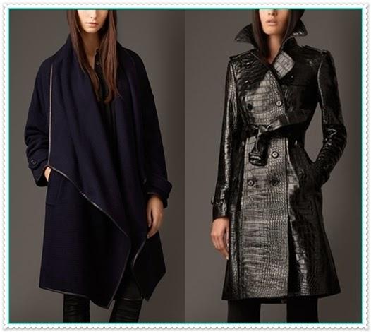 Burberry Wintermantel für Damen 2014