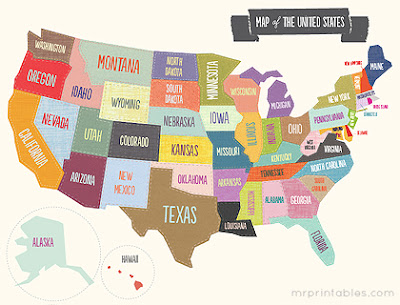 Http Www Mrprintables Com Printable Map Of The United States Html