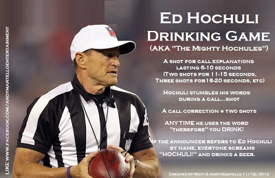 Ed Hochuli Drinking Game The Mighty Hochules