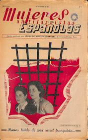 Recetas de cocina recogidas por la revista Mujeres Antifascistas Españolas