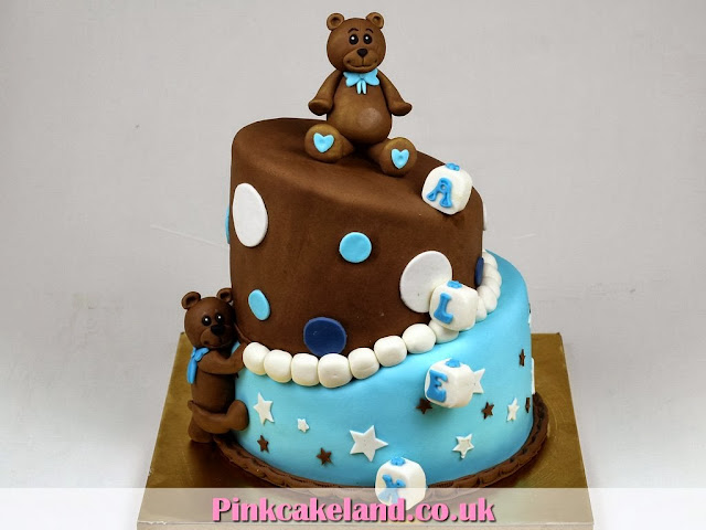 Teddies Birthday Cake for Boy in London