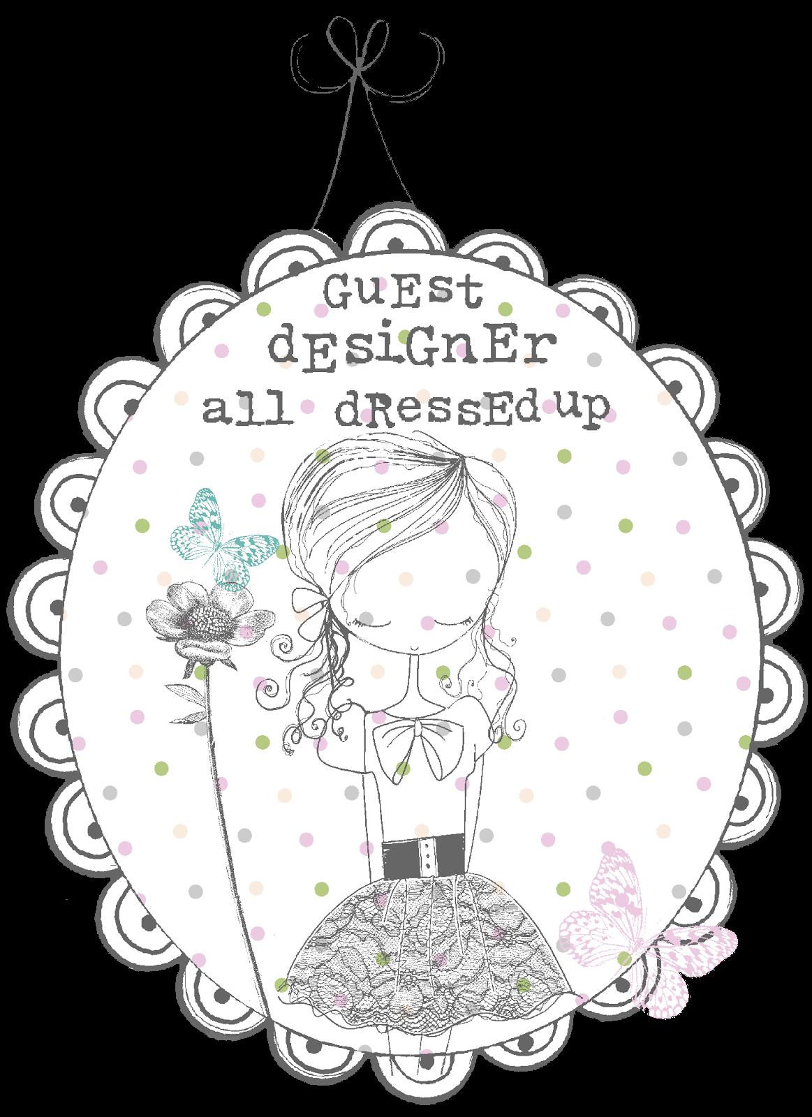 Guest Designer for All Dressed Up