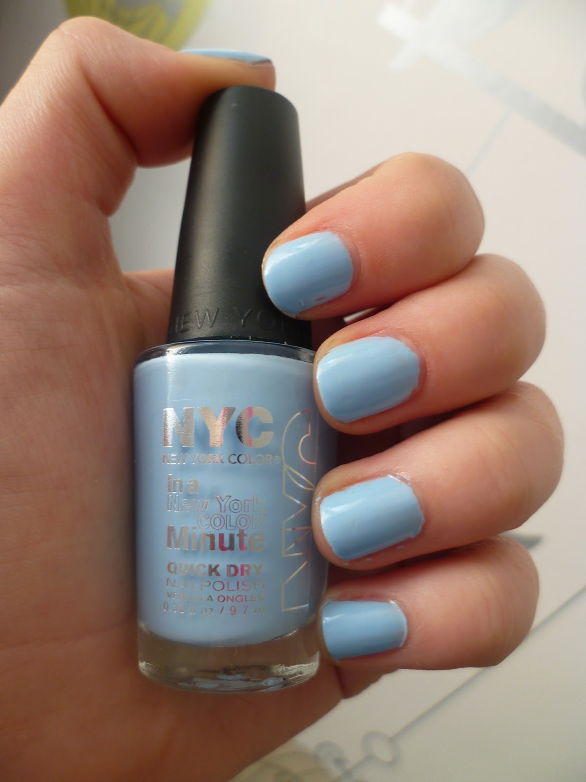 NYC In A New York Colour Minute Quick Dry Nail Polish in 325 ...