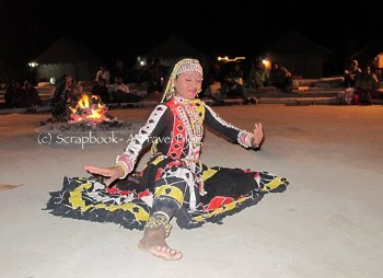 Snake Dancer of Rajasthan at Sam Sand Dunes