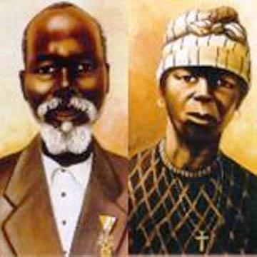 discreto africano esclavitud cerca de Palma
