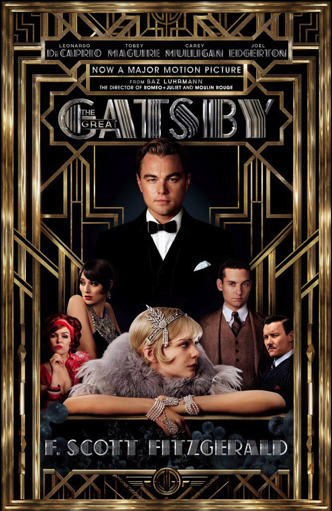 Blog new the great gatsby movie poster tie in book cover edition
