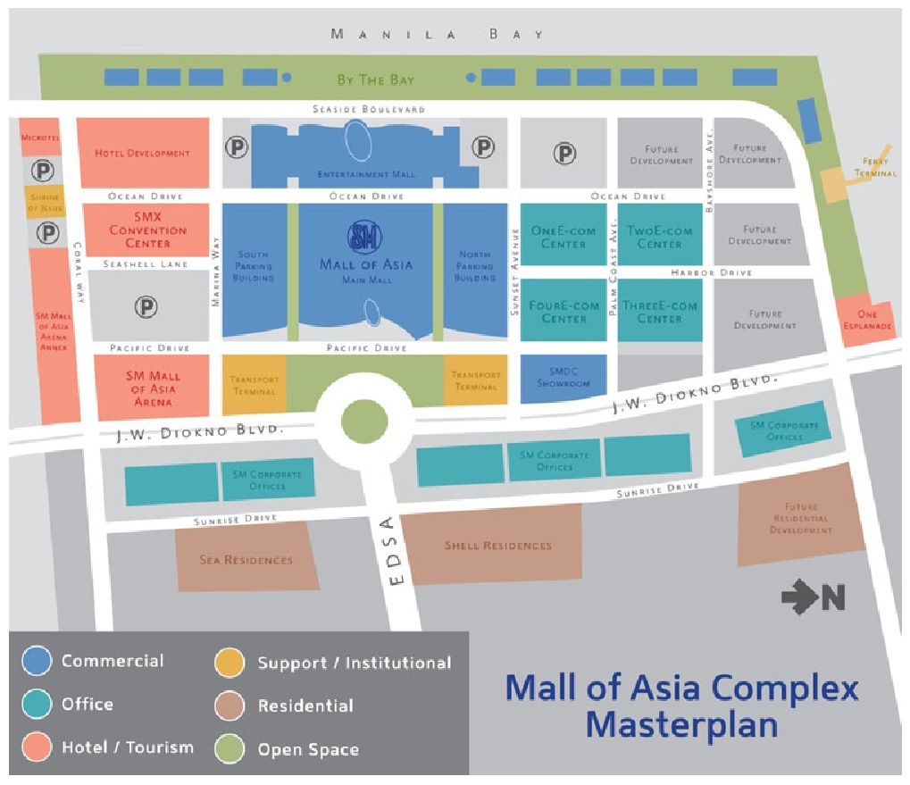 Sm Shore Residences At Mall Of Asia Complex Shell Residences In Mall Of Asia Complex Few Units