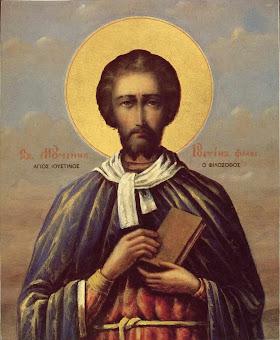 Azi 1 iunie praznuirea Sfantului Iustin , Martirul si Filisoful !