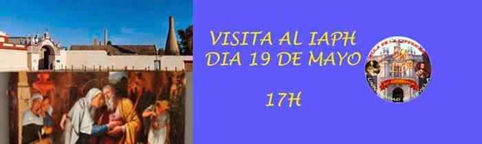 VISITA AL IAPH. INSCRIPCIÓN COMPLETADA