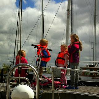 kids aan boord