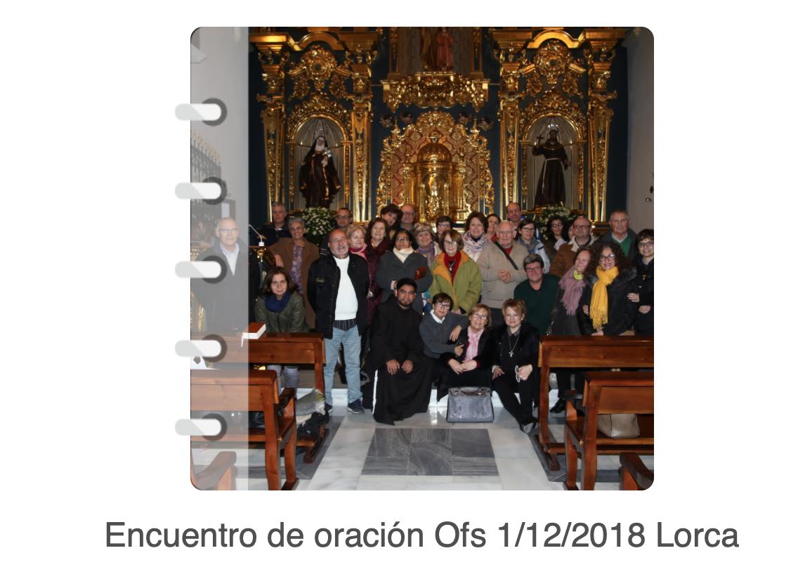 1º Encuentro de ORACIÓN