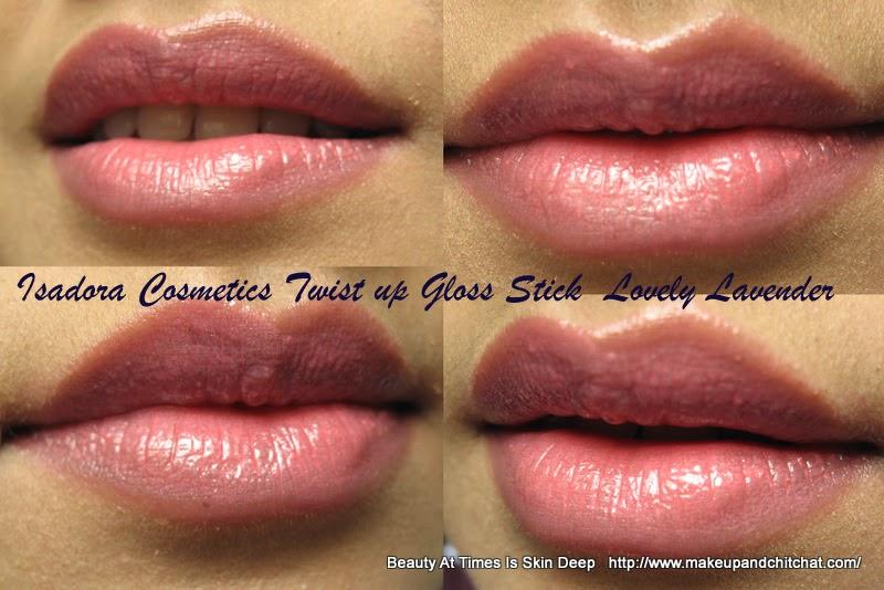Isadora Twist Up Gloss Sticks Lovely Lavender