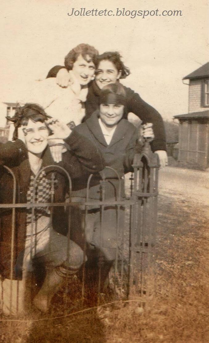 Velma Davis and friends March 1925