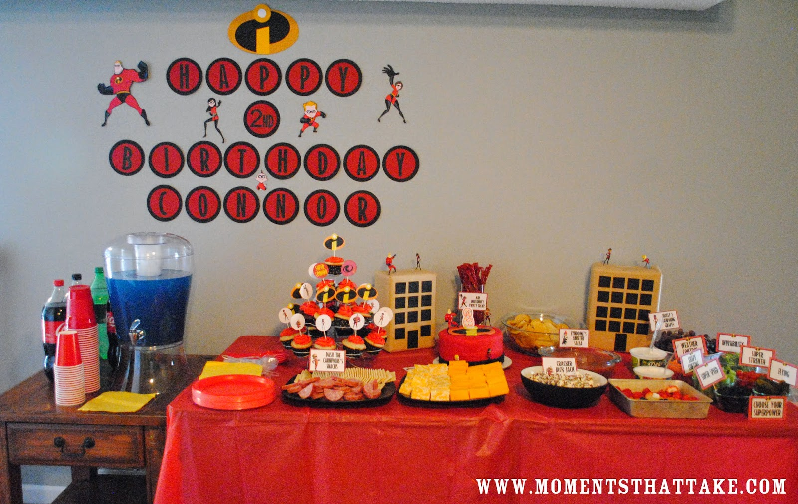 Incredibles Birthday Party Banner