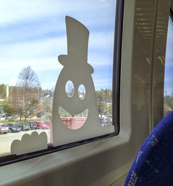 fönsterdekoration, pendeln
