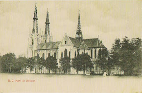 R.C.Kerk te Batavia (Gereja Cathedral Jakarta) 1909