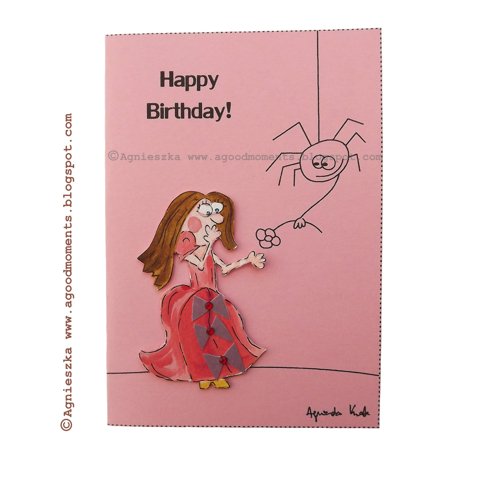 Good Moments: Funny Birthday Card / Śmieszna Kartka Urodzinowa