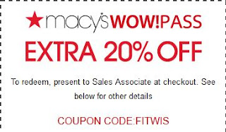macys printable coupons