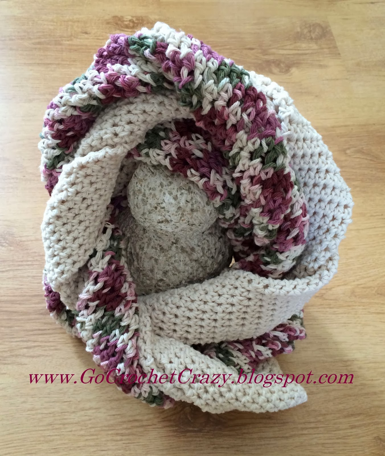 Go Crochet Crazy's Twisted Infinity Scarf is finally off-the-hook!