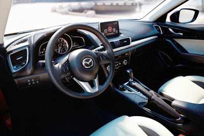 Noul interior al noii Mazda3