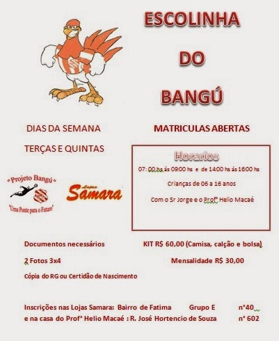 ESCOLINHA DO BANGÚ A.C.