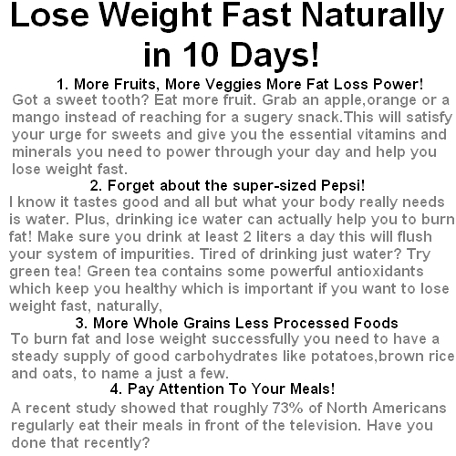 losing weight essay