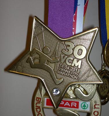 Vienna City Marathon 2013 Medalie