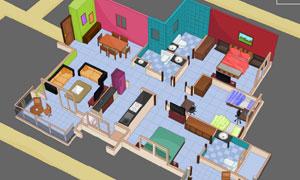 Cutaway House Escape-4