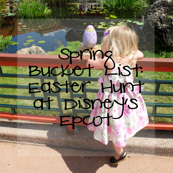 Sweet Turtle Soup: Spring Bucket List - Easter Hunt at Disney's Epcot