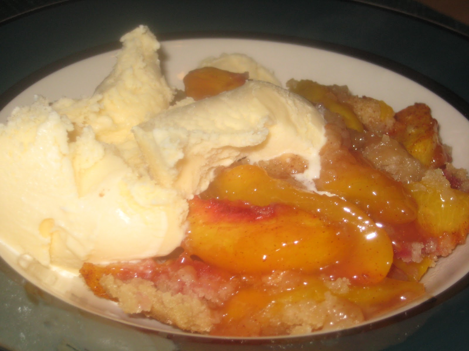 peach blackberry cobbler southern peach cobbler sweet peaches covered ...