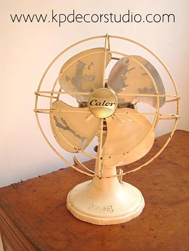 Kp tienda vintage online ventilador vintage a os 50 - Ventiladores decorativos ...