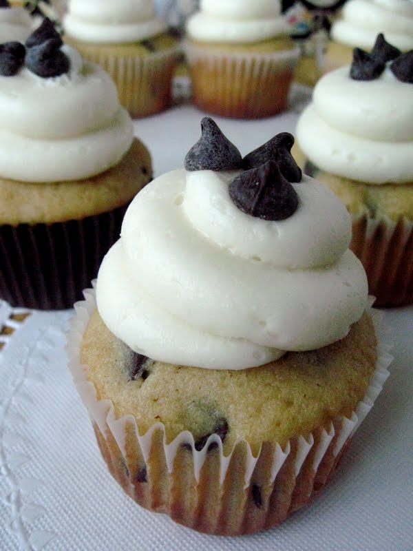 ... Chip Cupcakes with Cream Cheese Buttercream - Your Cup of Cake