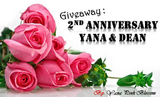 Giveaway : 2nd Anniversary Yana & Dean