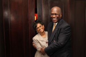 "gloria cain herman cain wife Herman Cains Wife, Gloria Cain, Missing from Book Tour, Says He ""Wants to Keep Her Alive to Hold Bible"" at Swearing In"